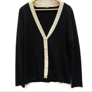 | Magaschoni | 100% cashmere cardigan black
